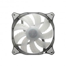 COUGAR CF-D12HB-W 120mm WHITE LED Hydraulic Bearing Case Fan