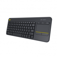 LOGITECH K400 BLACK WIRELESS KEYBOARD WITH INTEGRATED TOUCH