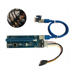 PCIE 16x Adapter Riser Card Power USB 3.0 for mining