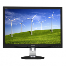 PHILIPS 240B4QPYEB 24in IPS-LED VGA/DVI/DP1.2/H-ADJ MONITOR