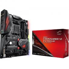 Asus AM4 socket for AMD Ryzen, AMD X370, 4 x DIMM, max. 64GB, MultiGPU, 8 x SATA 6Gb/s ports,SupremeFX S1220 Audio