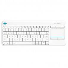 LOGITECH K400 PLUS WIRELESS TOUCH KEYBOARD WHITE