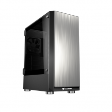 Cougar Trofeo hinged Tempered Glass midi tower case