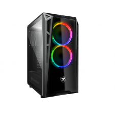Cougar Turret-RGB Tempered Glass gaming case