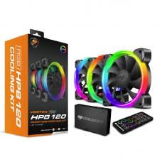 Cougar CF-V12SET-RGB 3x CF-V12HB-RGB Fans, Remote & Core box