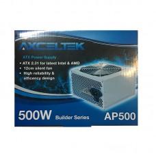 Axceltek AP500B 500W ATX power supply (12cm fan, 4 x SATA)