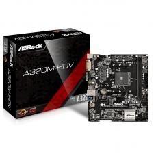 Asrock A320MHDV AMD Ryzen AM4 motherboard