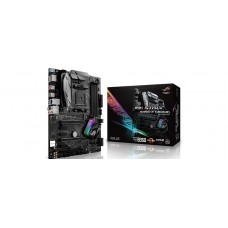Asus AMD AM4 X370 ATX gaming motherboard with Aura Sync RGB LED, DDR4 3200MHz, M.2, USB 3.1 frontpanel connector and TypeA/C